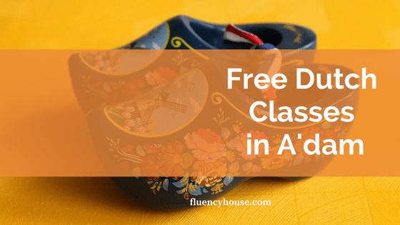 Free Dutch Course Amsterdam